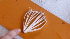 Free Tutorial - White Wafer Paper Filigree Flower
