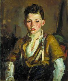 Robert Henri 1925 The Fisherman's Son, Thomas Cafferty