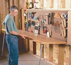 DIY garage storage ideas to help you reinvent your garage on a budget . - DIY garage storage ideas to help you reinvent your garage on a budget – cute DIY projects -