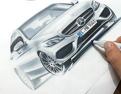 """다음 @Behance 프로젝트 확인: """"some car sketches"""" https://www.behance.net/gallery/24751641/some-car-sketches"""