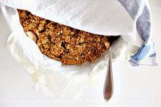 Easy apple crumble - can do as glutenfree!