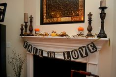 Fall Bridal Shower Decor