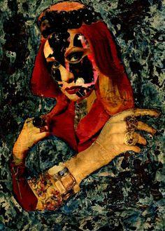 Nº 10-Collagemania Carmen Luna. Pintura Mixta Collage- Artista CARMEN LUNA- http://www.carmen-luna.com