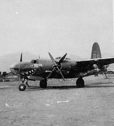 B-26 Marauder Bomber Sharks Mouth Italy