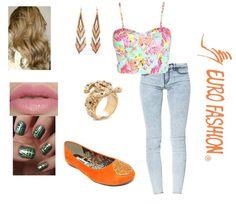 #Outfit #Flats #Anaranjado #Fashion #Nails