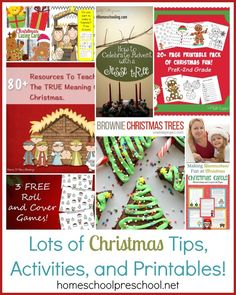 Welcome back! I can't believe it's already December! Christmas is just a few weeks away. So, this week, I'm featuring many fun Christmas-themed posts that were shared in our link up last week.
