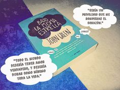 #bajolamismaestrella #JohnGreen #novela #book #read