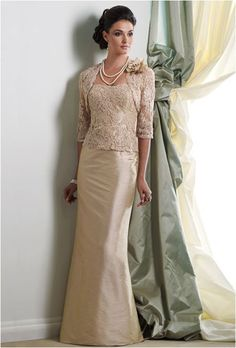 Wholesale New Strapless Bride Mother Dresses Wedding Gown Mother of the Bride Dress with lace jacket, This is a contender Mother Of The Bride Gown, Mother Of Groom Dresses, Bride Groom Dress, Mothers Dresses, Bride Gowns, Mob Dresses, Bridesmaid Dresses, Wedding Dresses, Party Dresses