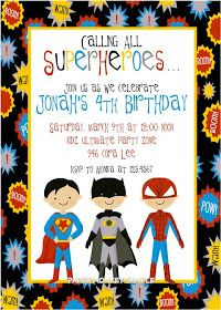Too Stinkin' Cute: Super Hero Party Idea