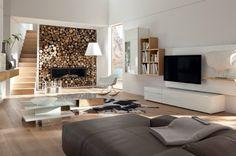 Contamporary Interesting Living Rooms Designs 4 Hülsta Wohnzimmer, Wohnzimmer  Braun, Wohnzimmer Modern, Hülsta