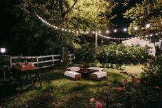 Rustic lake wedding seating area, by the roses... Lake wedding..