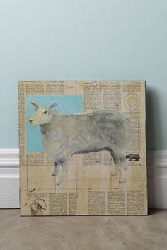 Sheep By Tom Judd...#Anthropologie #PinToWin