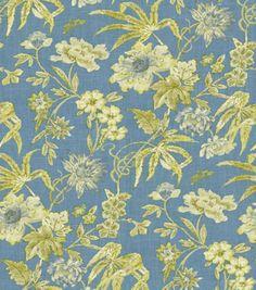Home Decor Print Fabric-Waverly Honeymoon Chambray