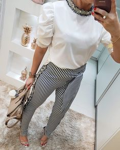 Classy Business Outfits, Business Fashion, Womens Fashion For Work, Look Fashion, Fashion Outfits, Casual Dresses, Casual Outfits, Formal Looks, Office Looks