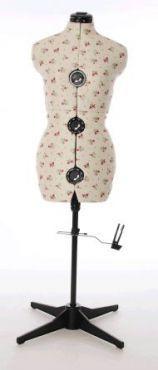Floral Adjustable Dressmakers Dummy