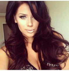 Black and Brown Bouncy Sexy Hair Inspiration