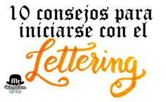 10 consejos para iniciarse con el Lettering Calligraphy Tutorial, Lettering Tutorial, Quilling Letters, Letter W, Literary Gifts, Lettering Styles, Tombow, Bullet Journal Layout, Typography