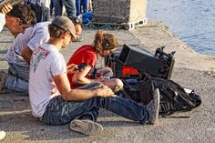 Filming in La Isleta (Cabo De Gata) -RODANDO (6ª TOMA) de Lola Diaz Somodevilla