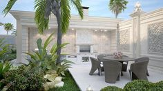 Exterior  Design Villa Dubai