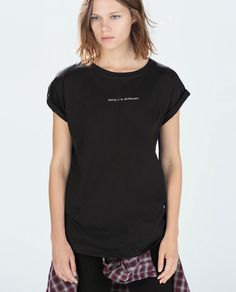 'Sorry I'm different' ZARA T-SHIRT