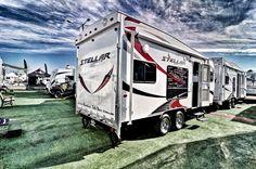 STELLAR Toy Hauler Trailers, Recreational Vehicles, Camper, Campers, Single Wide