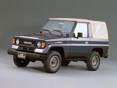 Toyota Land Cruiser II Canvas Top (LJ71) '1985–90