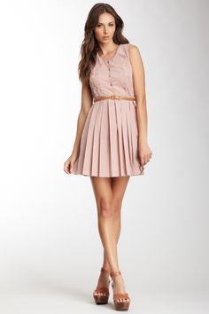 Pink Martini Scalloped Dress (25). I'd like to make it longer.
