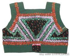 Traditional Slovak Folk Costume vest from Dobra Niva Slovakia