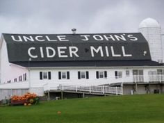 Uncle John's Cider Mill, St. Johns, MI. Love to go here to get cider and doughnuts in the fall.