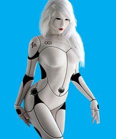 Miss Moss as Female Cyborg 02