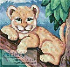 Mini Cub cross stitch pattern.
