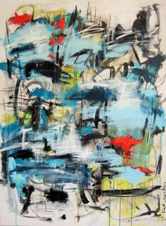 """Contemporary Painting - """"So Be It"""" (Original Art from Kat Crosby Art)"""