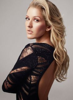 Ellie Goulding for Marie Claire UK, February 2014