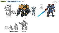 Star Gladius concept art