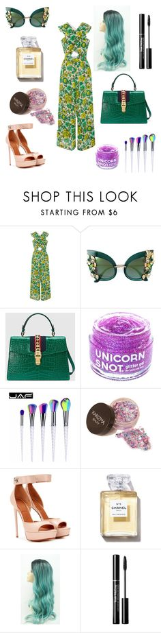 """St. Patrick's day"" by kittenkouture ❤ liked on Polyvore featuring Alice McCall, Dolce&Gabbana, Gucci, FCTRY and Givenchy"