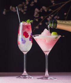 春を告げる桜や梅のカクテルが登場! 美しい夜景と一緒にロマンチックな時間が過ごせる♪