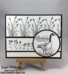 Masculine Card made with Wetlands by Cookielady01 - Cards and Paper Crafts at Splitcoaststampers