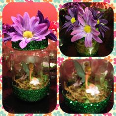 Handmade tinkerbell favors.  party favors can be customized to your theme contact jeanellemarie@ymail.com
