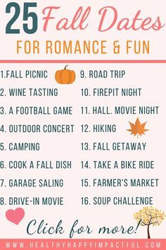 The best fall dates for couples. Use these fall date ideas to spice things up and add fun and romance with your spouse or partner. These cute dates are cheap and easy, indoor and outdoor. Just what we need this year! #falldatenightideas #falldateideascouple Marriage Life, Good Marriage, Marriage Advice, Halloween Date, Halloween Movie Night, Christmas Date, Holiday Dates, Date Activities, Autumn Activities