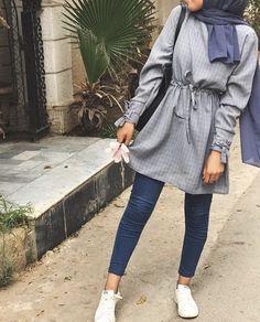 Modest Fashion Hijab, Modern Hijab Fashion, Modesty Fashion, Hijab Fashion Inspiration, Street Hijab Fashion, Muslim Fashion, Mode Outfits, Trendy Outfits, Fashion Outfits