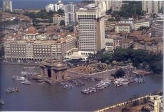 Mumbai, Gateway to India and Taj Mahal Hotel, this is where we saw in the new year 2011...