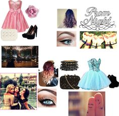 """""""Off to Prom with your best friends!!!!"""" by thejadejamboree on Polyvore"""