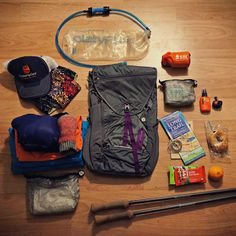 Pack before your hiking trip. Lightweight gear checklist to get you safely down the trail on your next adventure! Hiking Tips, Camping And Hiking, Hiking Gear, Hiking Backpack, Camping Gear, Camping Equipment, Tent Camping, Hiking Checklist, Camping Tools