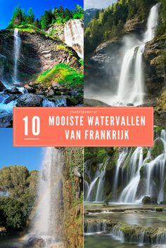 De 10 mooiste watervallen van Frankrijk | frankrijkpuur.nl Travel Inspiration, Travel Tips, Things To Do, Camping, France, Mountains, Country, City, Outdoor