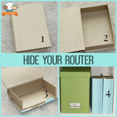 How to Hide Your Ugly Router + Teacher Home Office Makeover