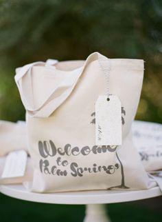 Wedding Welcome Bag http://cherishpaperie.com/