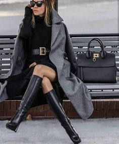 Winter Fashion Trends 2020 for Casual Outfits – Fashion Classy Outfits, Chic Outfits, Fashion Outfits, Fashion Trends, Fashion Styles, Girly Outfits, Black Stylish Outfits, Fashion Advice, Dress Fashion
