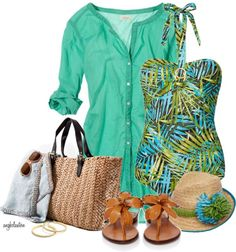 """""""Around the World - Hawaii Contest #3"""" by angkclaxton on Polyvore"""