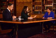 Canadauence TV: Em entrevista ao Jornal Nacional, Dilma se cala so...