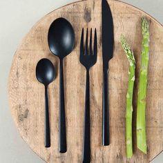 Ekstra 14 Sort bestikk-bilder   Kitchen utensils, Dinnerware og Tableware GV-95